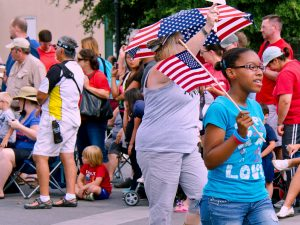 Americans Of All Backgrounds Come Together For The 4th Of July