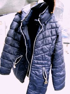 DKNY Puffy Winter Girls Coat For Donation