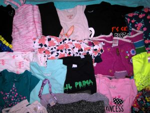 Girls 5T Family in Greenwood Brooklyn Donation