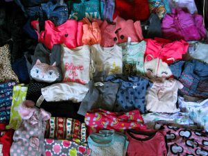 Girls Clothing For Donation to Manhattan Family