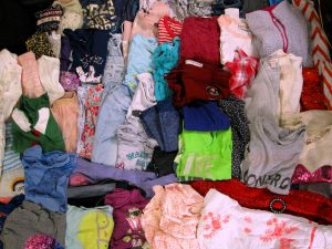 Girls Lot of Clothing For Donation, March 11, 2020