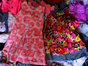 Girl's Sun Dresses For Donation in March, 2020