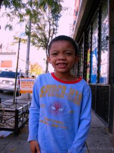 Staten Island Clothing Donation for Port Richmond family. Assertive Kids Foundation.