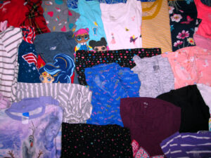 Donation Of Kids Girls Clothes To Staten Island Family