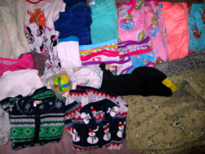 Girls 4T Clothing lot For Donation To Family in Arlington