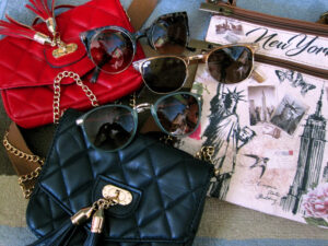 Handbags and Sunglasses For Girls Clothing Donation